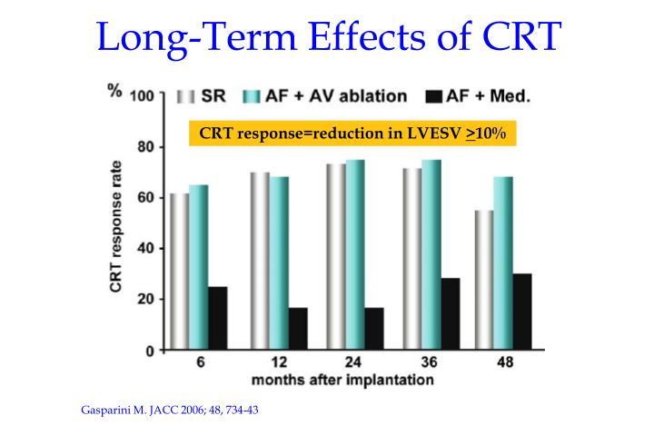 Long-Term Effects of CRT