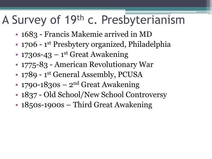 A Survey of 19