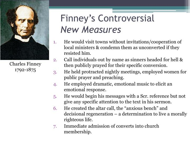 Finney's Controversial