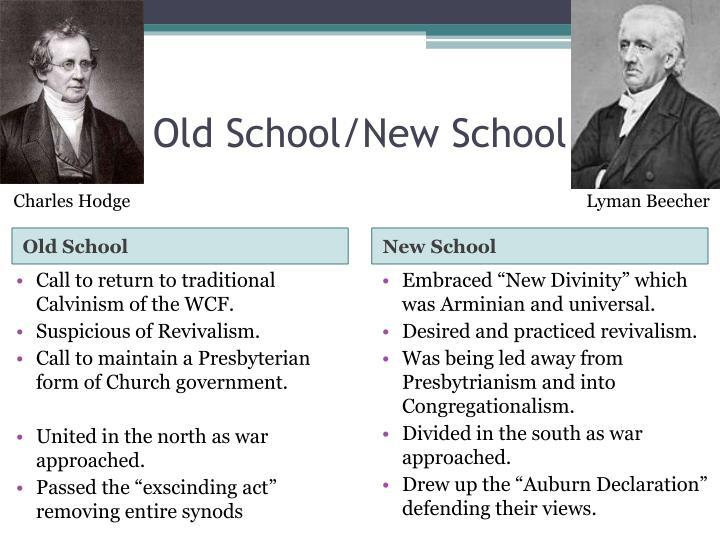 Old School/New School