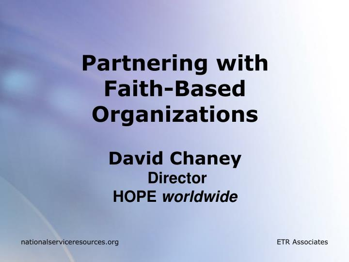 Partnering with