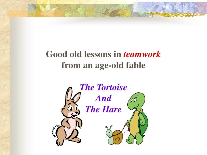 Good old lessons in