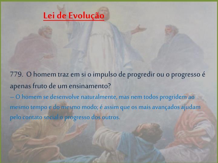Lei de Evolução