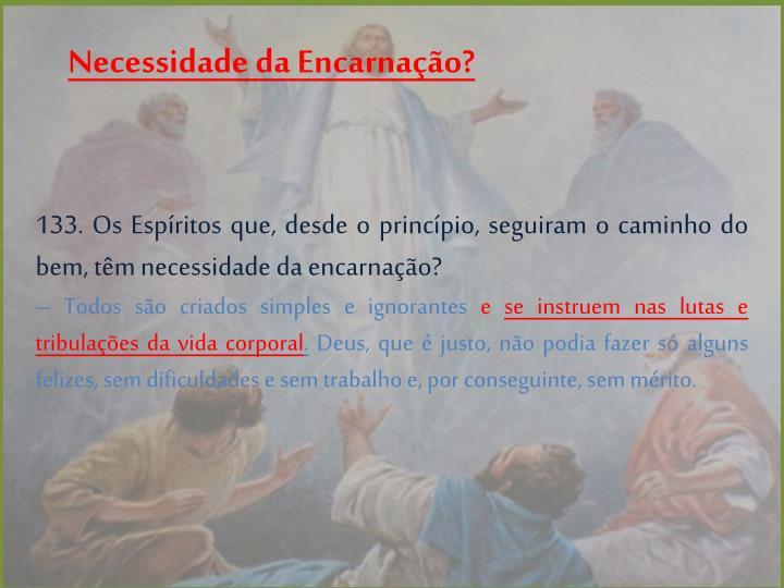 Necessidade da Encarnação?