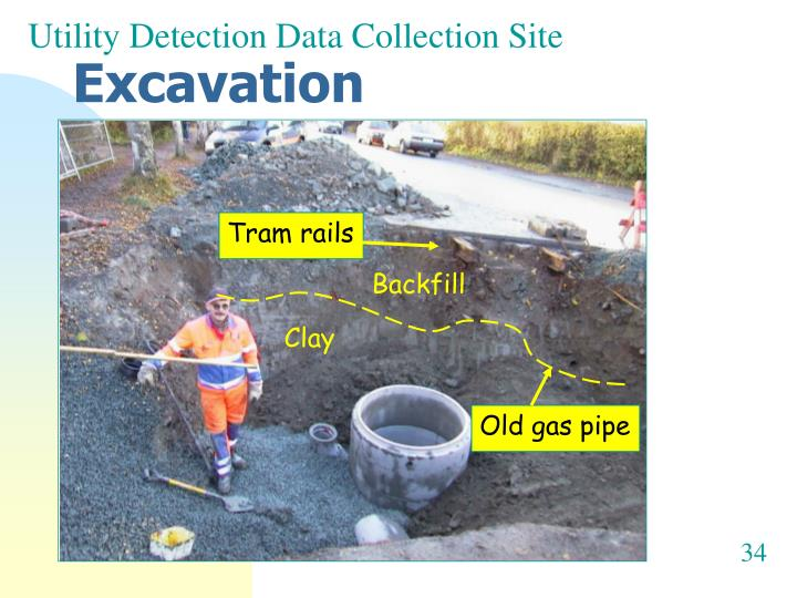 Utility Detection Data Collection Site