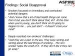 findings social disapproval1