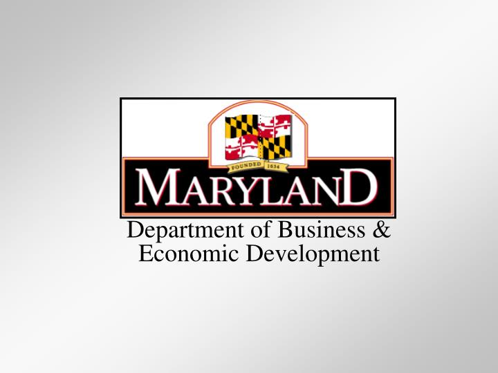 Department of Business &