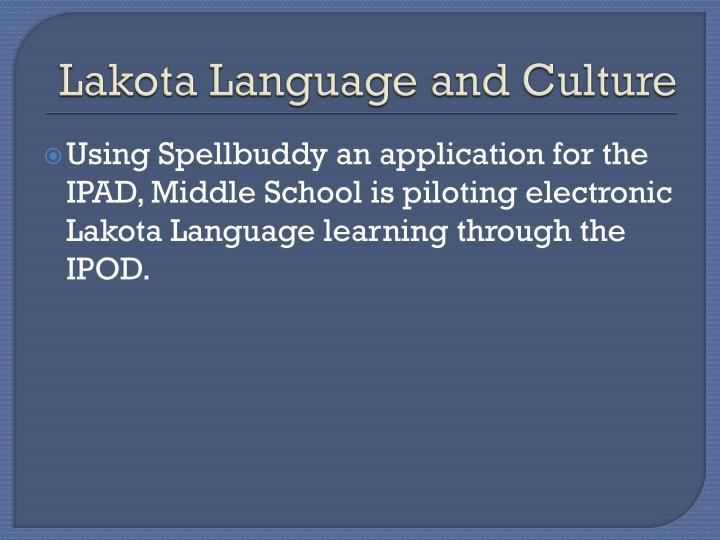 Lakota Language and Culture