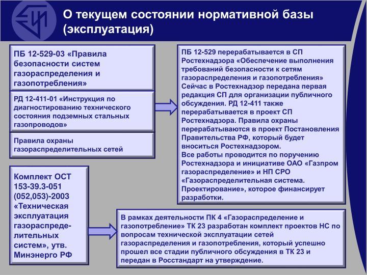 4. Общие требования к сетям газораспределения, газопотребления и объектам СУГ