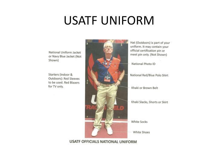 USATF UNIFORM