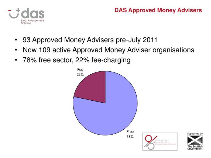 DAS Approved Money Advisers