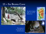 13 su bentu cave