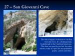 27 san giovanni cave
