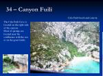 34 canyon fuili