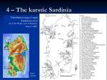 4 the karstic sardinia