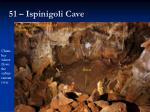 51 ispinigoli cave
