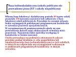 baza technodydaktyczna szko y publiczne nie prowadzone przez jst i szko y niepubliczne