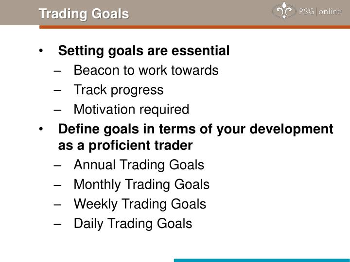 Trading Goals