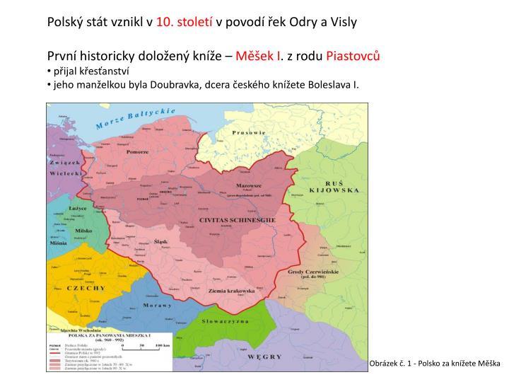 Polský stát vznikl v