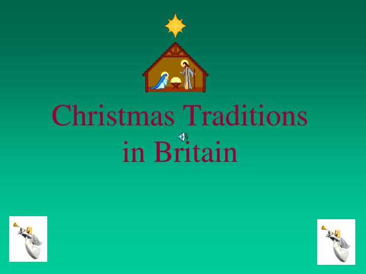 christmas traditions in britain n.