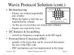 wavix protocol solution cont1
