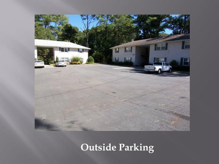 Outside Parking