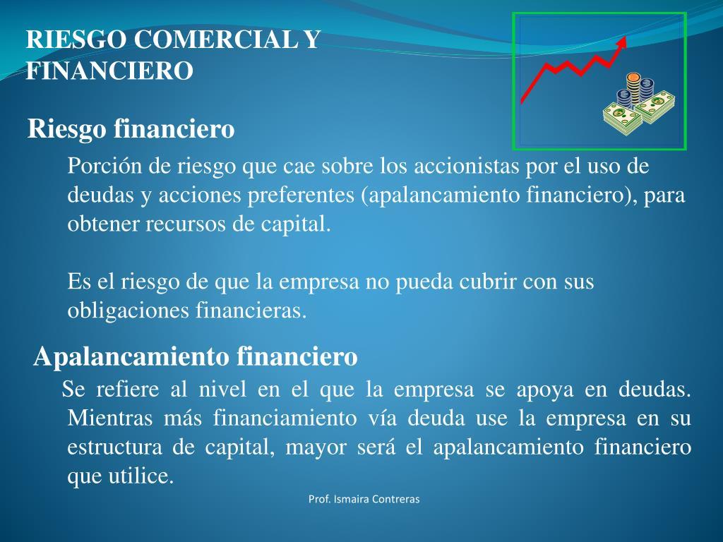 Ppt Estructura De Capital Y Apalancamiento Financiero