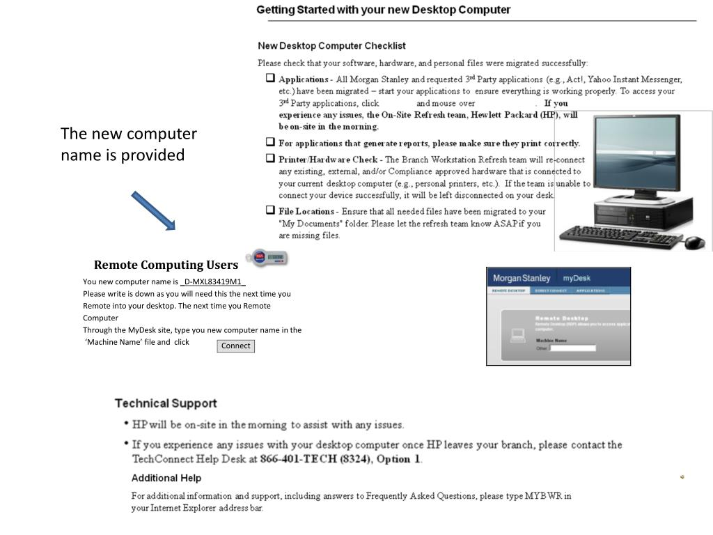 PPT - Morgan Stanley / Hewlett Packard PowerPoint