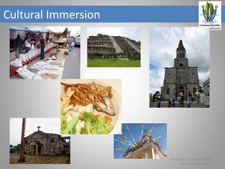 Cultural Immersion