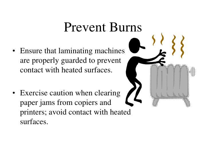 Prevent Burns