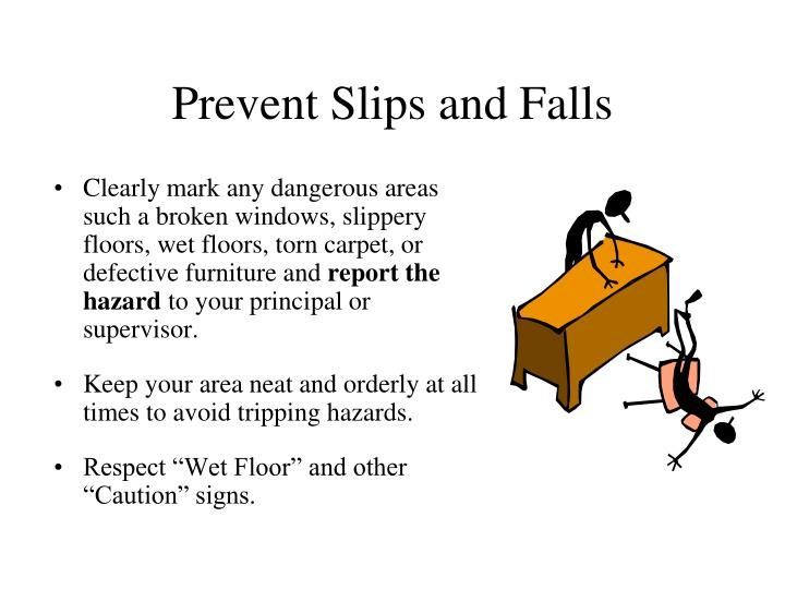 Prevent Slips and Falls