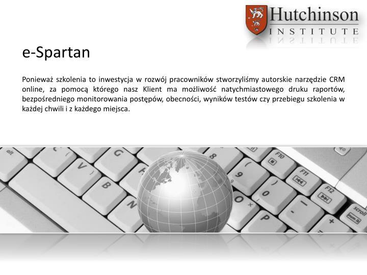 e-Spartan