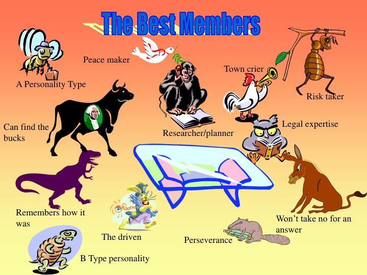 The Best Members