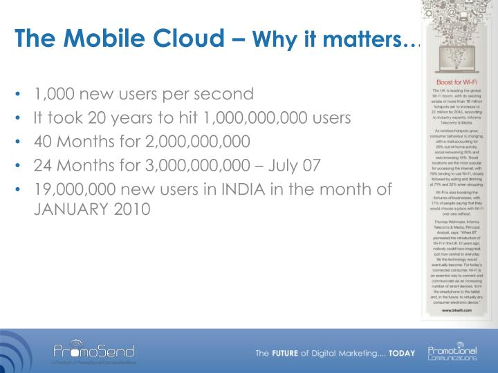 The mobile cloud why it matters1
