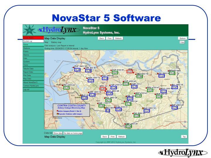 NovaStar 5 Software