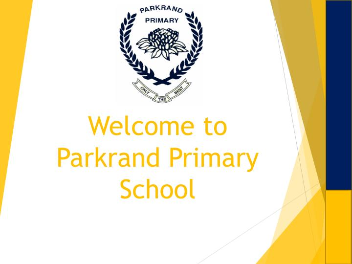 welcome to parkrand primary school n.
