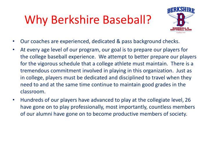 Why berkshire baseball1