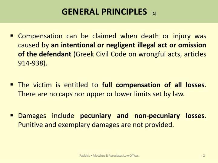 General principles 1
