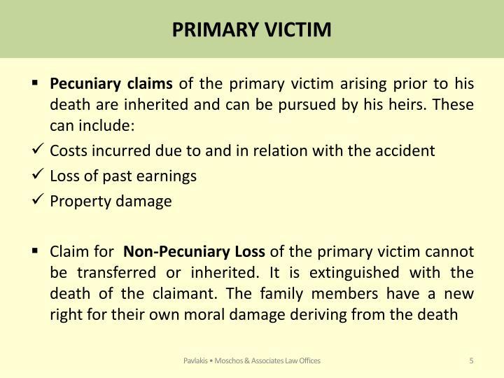 PRIMARY VICTIM