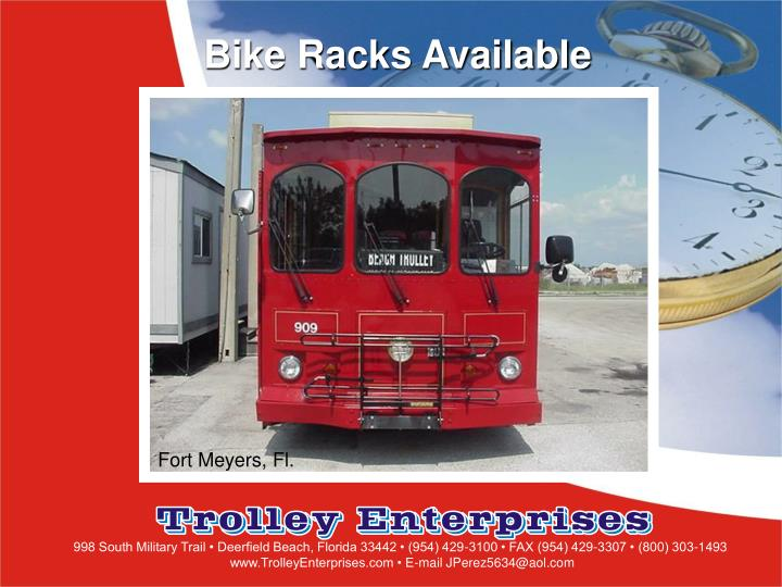 Bike Racks Available
