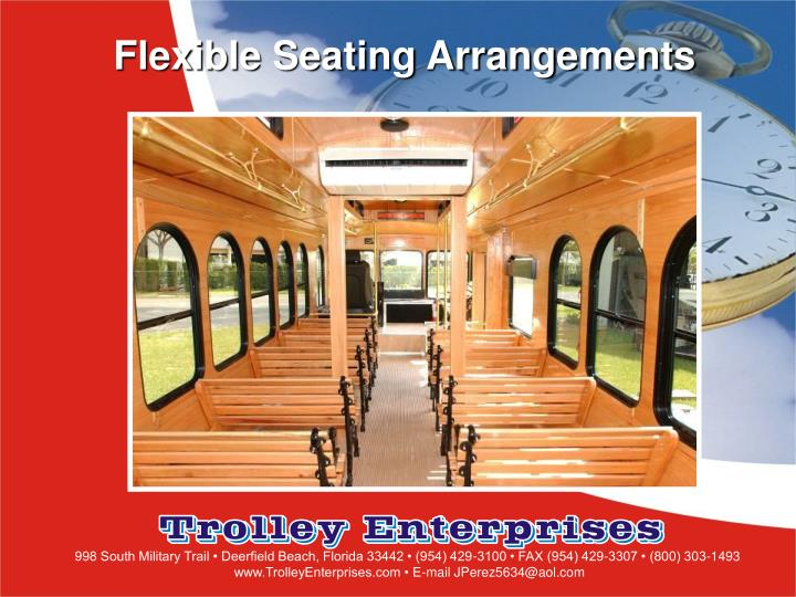 Flexible Seating Arrangements