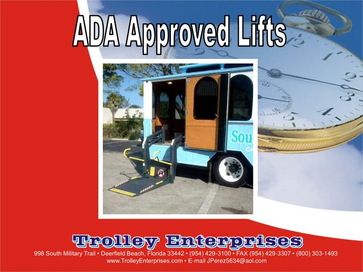 ADA Approved Lifts