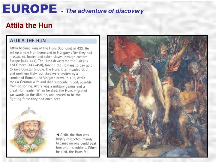 attila the hun study questions and Regarding odoacer, we have coins as a primary source like this: but we don't have primary sources for attila the hun and alaric late roman historians like jordanes are our sources but, legends associated with attila had survived in germanic folk.