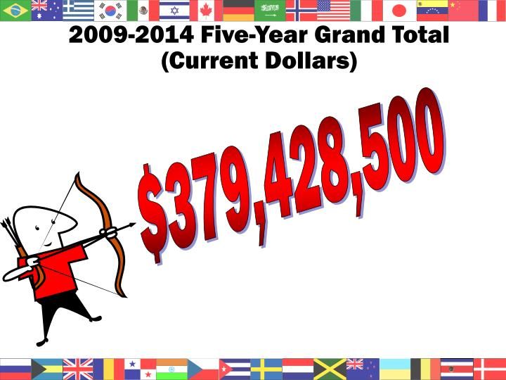 2009-2014 Five-Year Grand Total