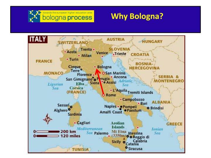 Why Bologna?