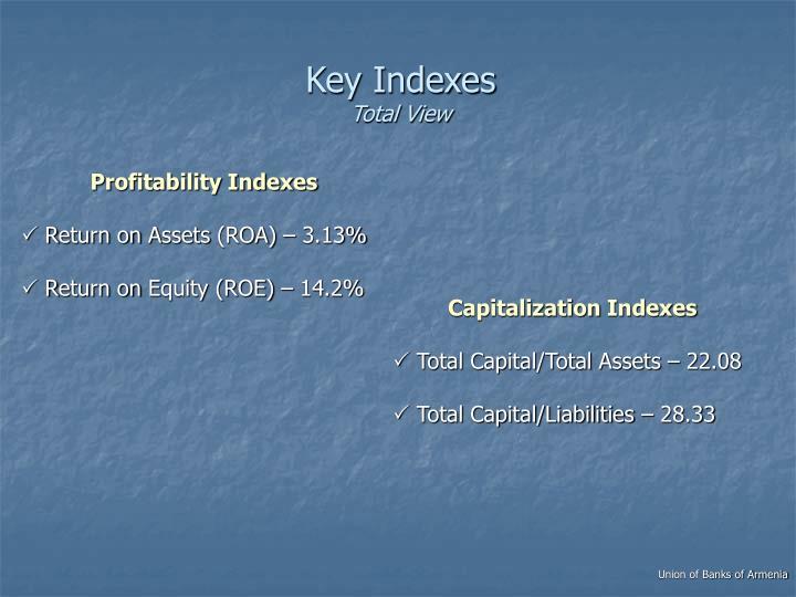 Key Indexes