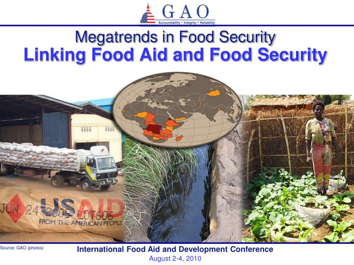 megatrends in food security linking food aid and food security n.