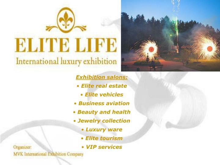 Exhibition salons