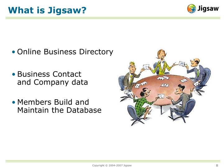 What is Jigsaw?