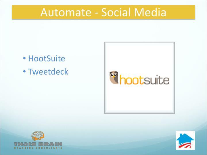 Automate - Social Media